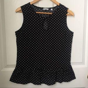 Reitmas Polka Dot Sleeveless blouse